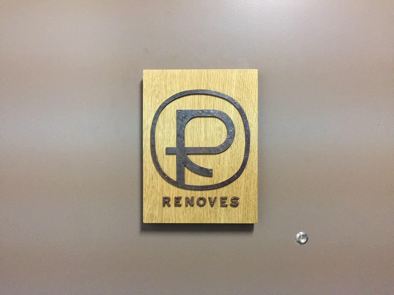 RENOVES 看板の設置