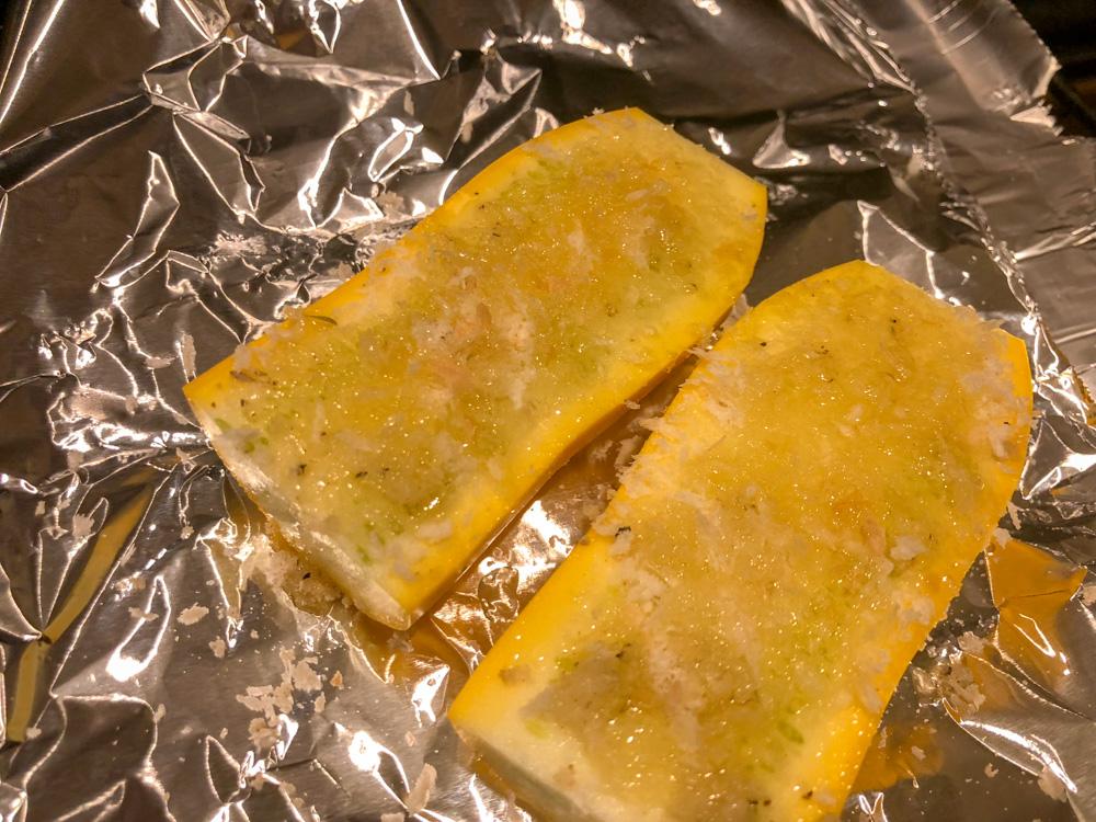 ズッキーニの簡単香草焼き