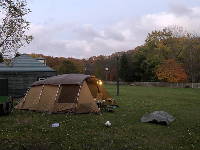 紅葉キャンプで今シーズン終了