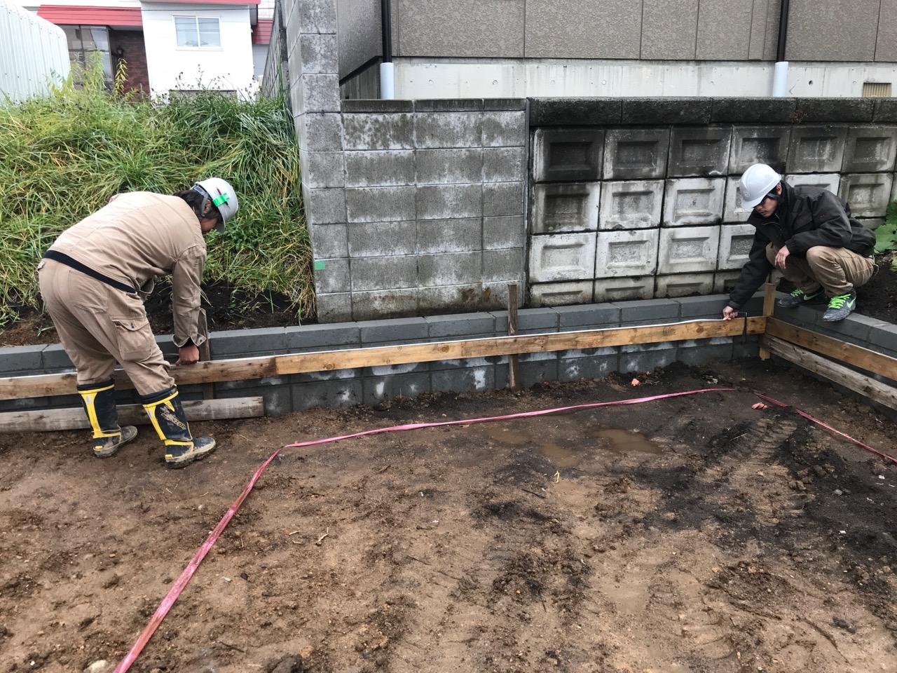 【遣り方検査】注文住宅の工事がスタート
