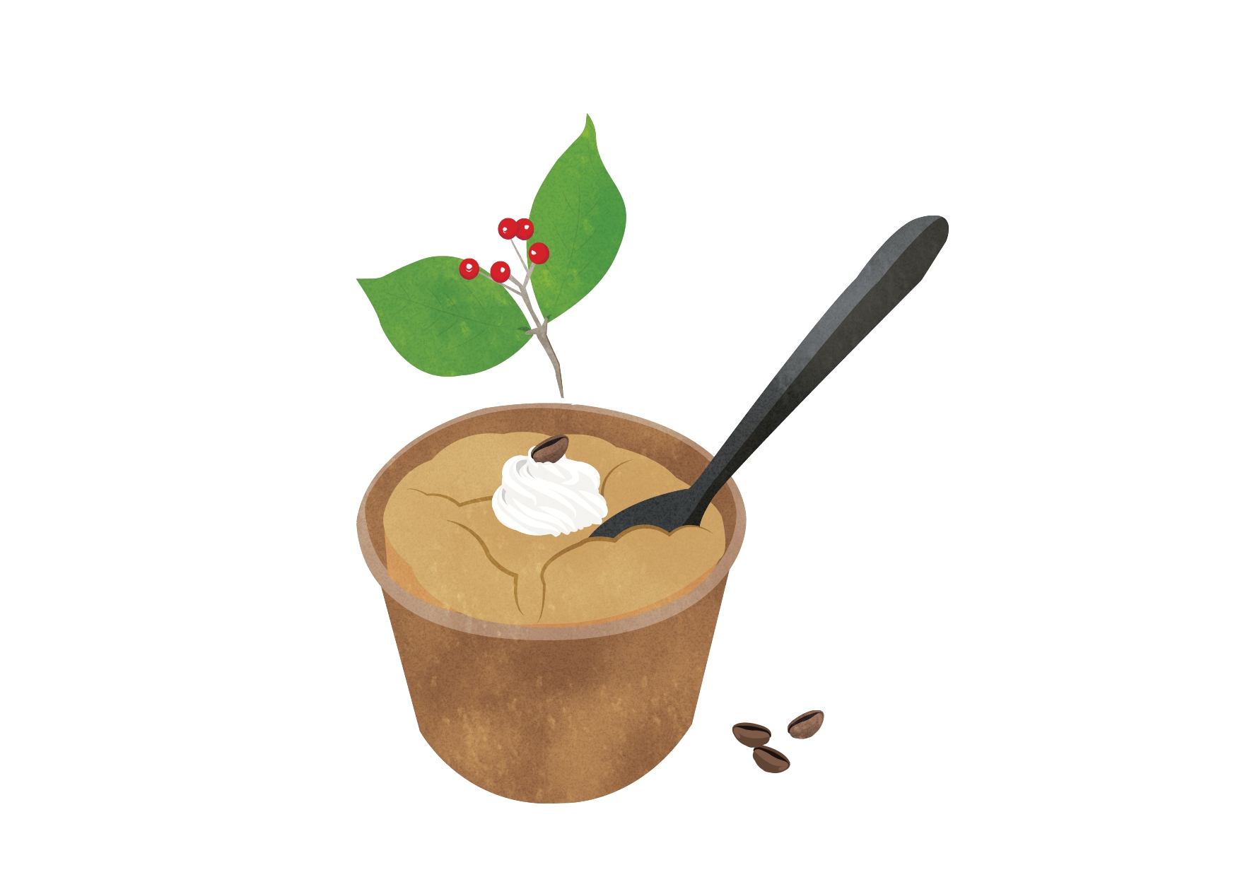 "【RENO CAFE SWEETSレシピ】No.3 ‶DANDAN"" 『Chiffon in Espresso』"