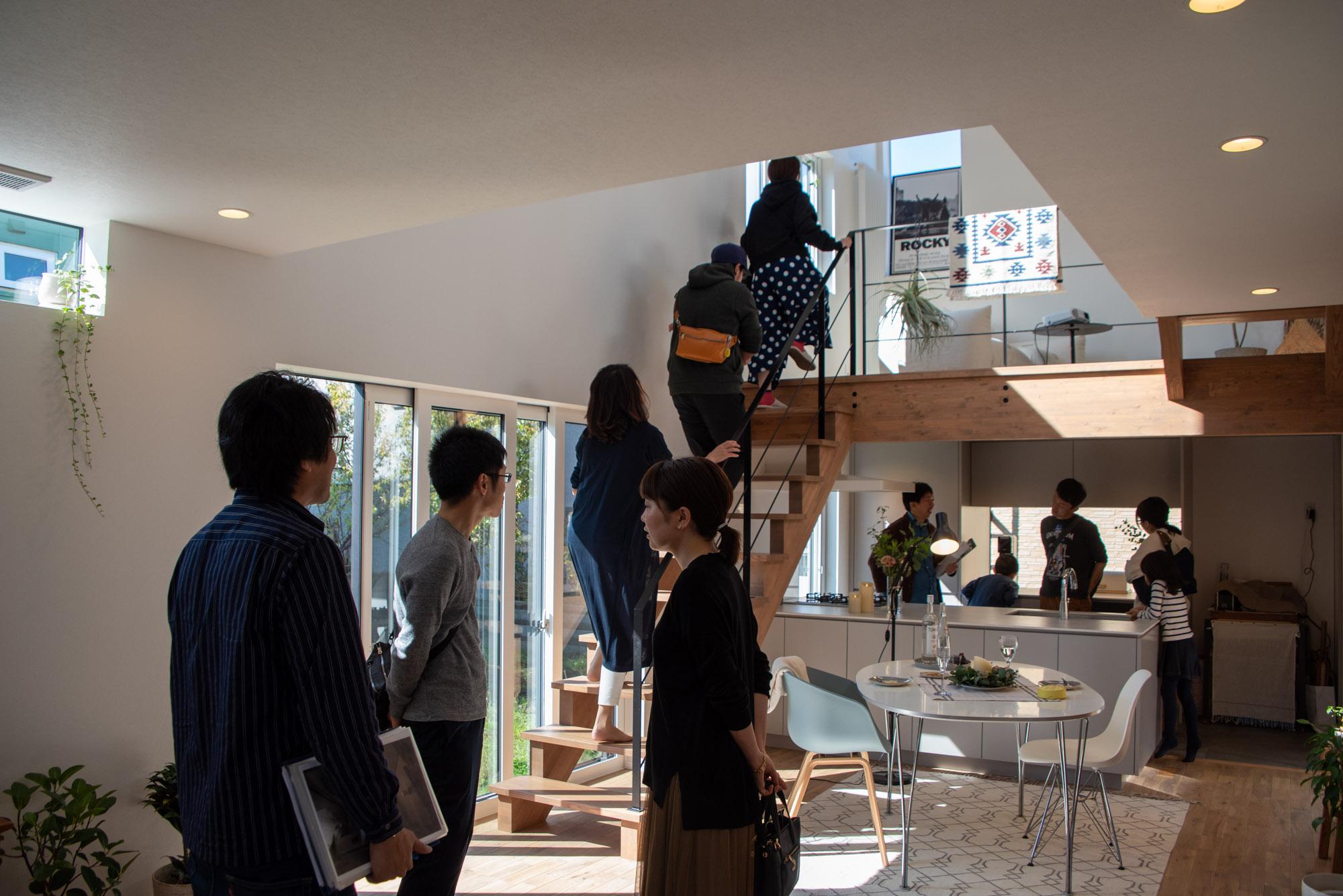 RENO CAFEは、暮らしのヒントが見つかる完成見学会