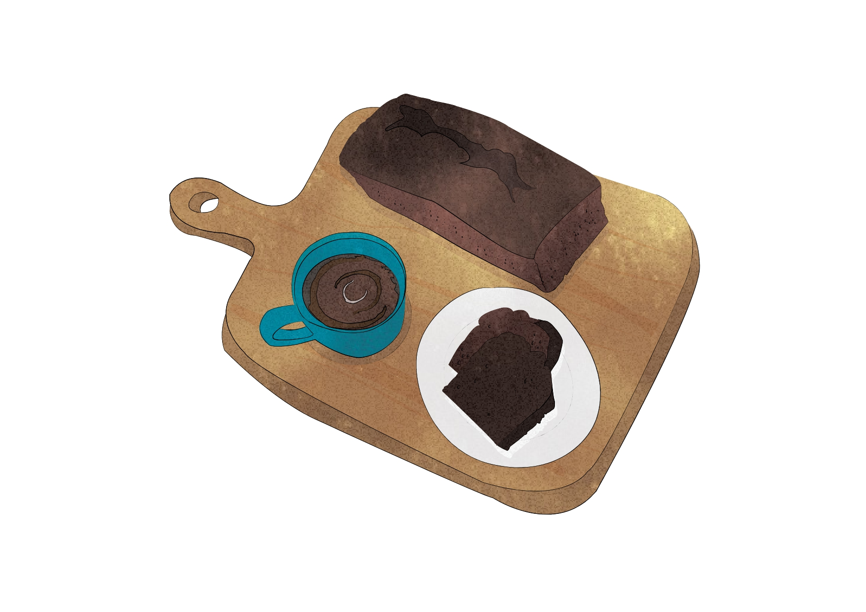 "【RENO CAFE SWEETSレシピ】No.1 RENO CAFE ""PLUS+""『秘密のチョコケーキ』"