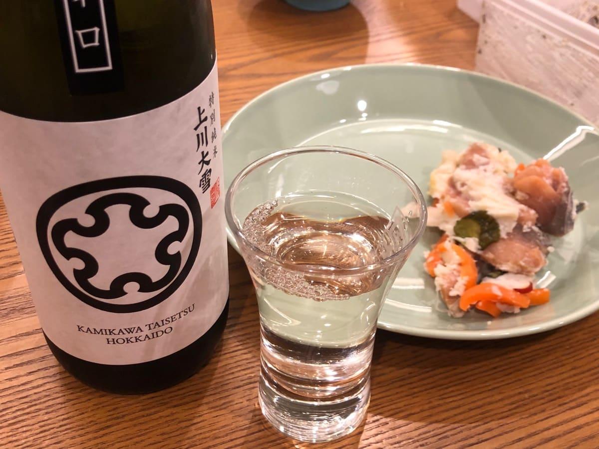 飯寿司と日本酒