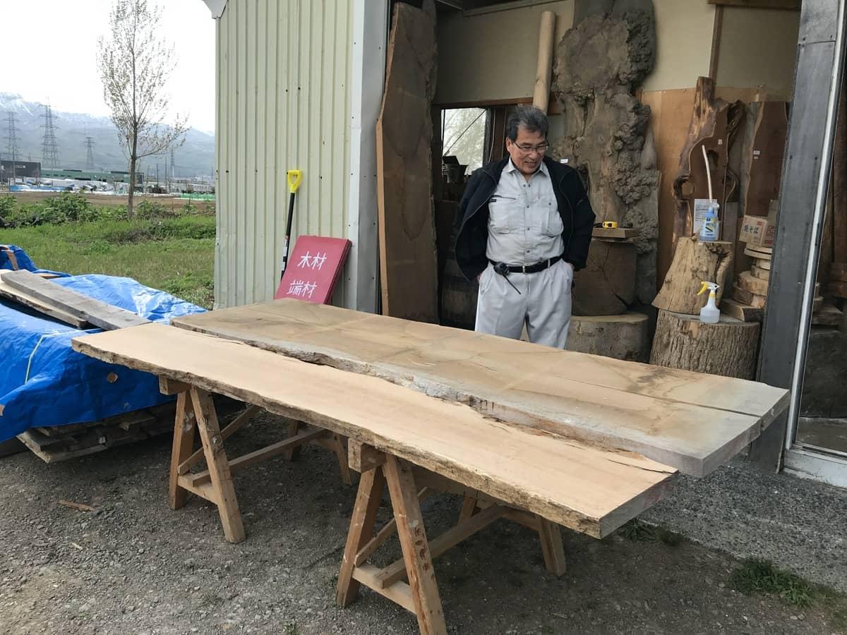 無垢板天板ダイニングテーブル制作のその後