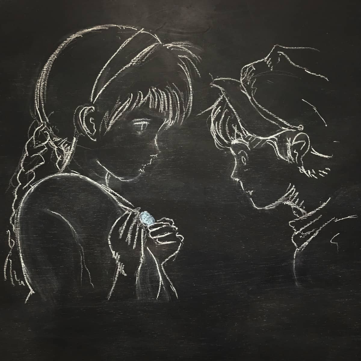 黒板お絵かきシリーズ ジブリ編