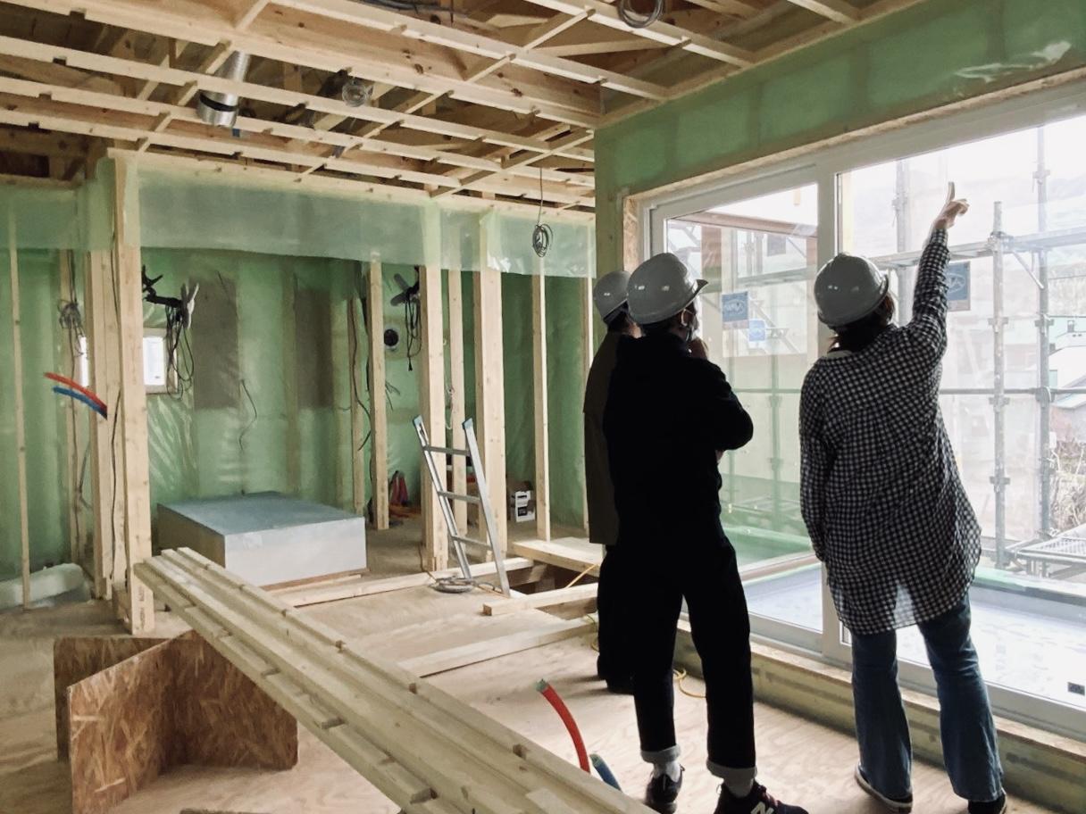 海を望む家、小樽市銭函の新築注文住宅の現場から vol.1
